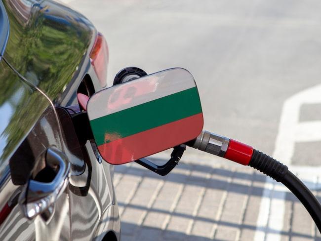 Billigast bensin och diesel i Europa tankar du i Bulgarien.
