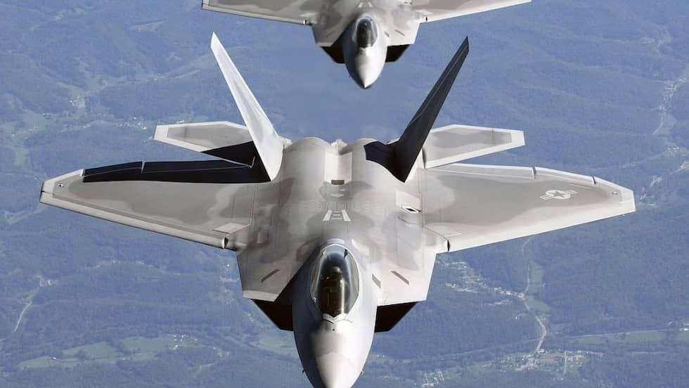Lockheed Martin / Boeing F-22 Raptor. Foto: Wikimedia commons