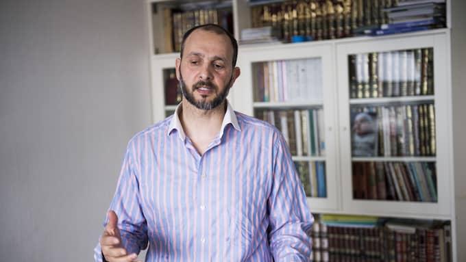 Ammar Daoud är aktiv i den nya moskén och islamska kulturcentret Foto: TOMAS LEPRINCE