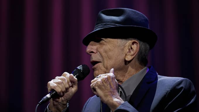 Leonard Cohen är död – han blev 82 år gammal. Foto: Lisa Mattisson