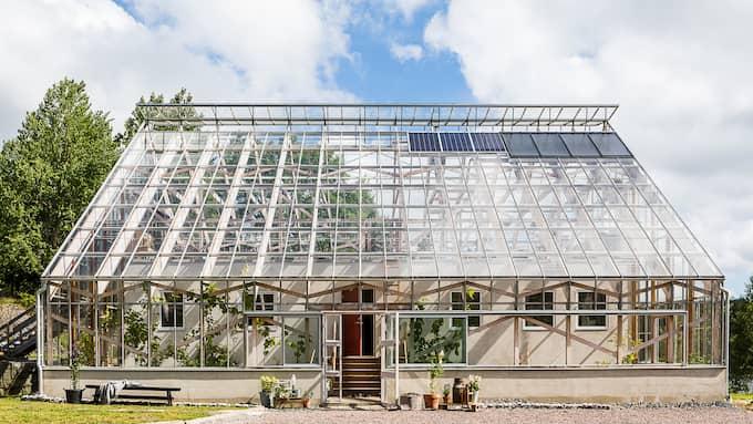 Huset på 85 kvadratmeter säljs för 7 000 000 kronor. Foto: Eklund Stockholm New York