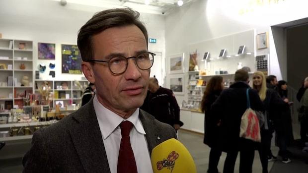 """Ulf Kristersson (M) om Kinas hot: """"Vi står upp för svensk yttrandefrihet"""""""