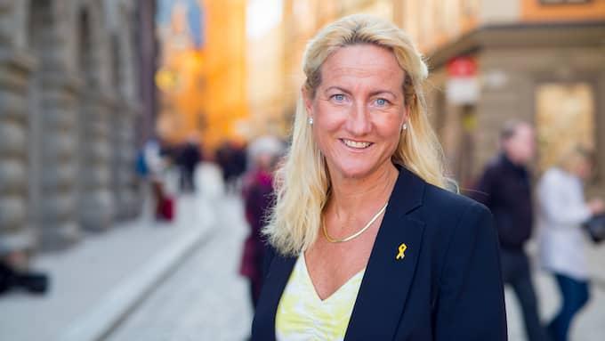 Cecilia Widegren (M), riksdagsledamot från Skaraborg. Foto: FREDRIK WENNERLUND