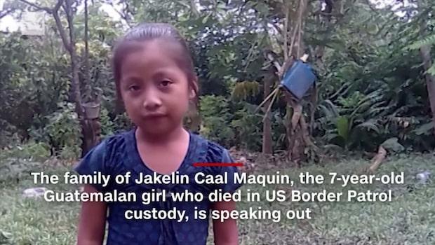 Sjuåriga dottern Jakelin dog hos gränspolisen i USA