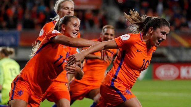 Nederländerna Europamästare efter seger mot Danmark