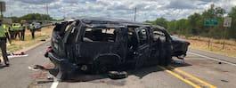 Bil voltade under flykt från gränspolis – fem döda