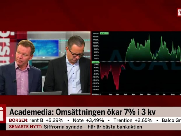 """Petersson om Academedia: """"Absolut intressant"""""""