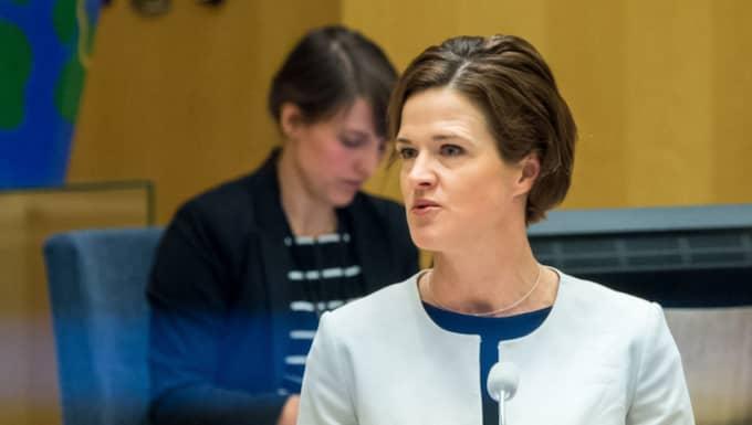 Moderaternas partiledare Anna Kinberg Batra. Foto: AOP-IBL/Pelle T Nilsson