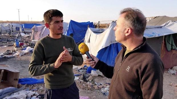 Svenska IS-familjer flydde från lägret