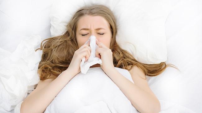 näsblod när man sover