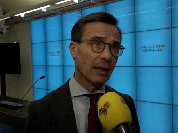 """Ulf Kristersson (M): """"Man kan inte avtala bort grundlagen"""""""