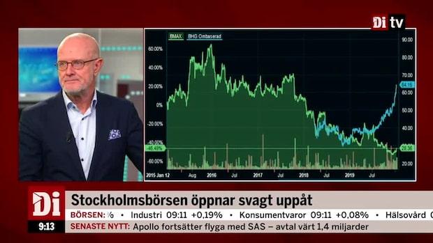 """Rudolfsson: """"Aktien ska upp 70 procent"""""""