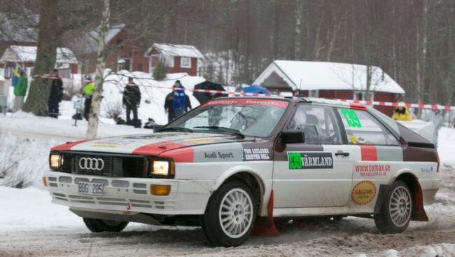 Folkfest och fartfyllt rally närRally Sweden går av stapeln.