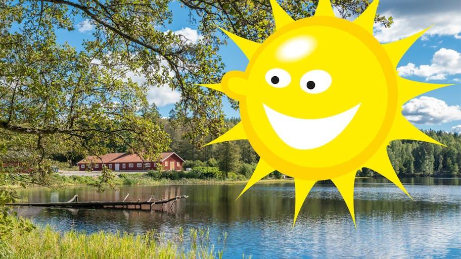 Sommarvärmen kommer tillbaka – chans på 20 grader i helgen