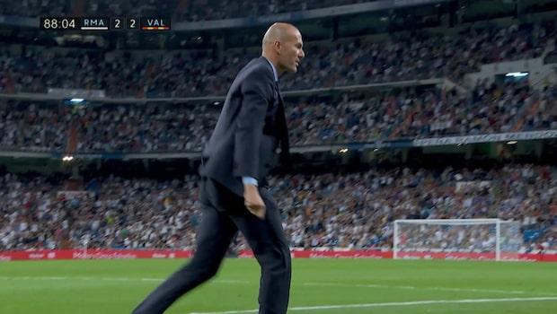 Målklubben: Zidane får spel – efter galna missen