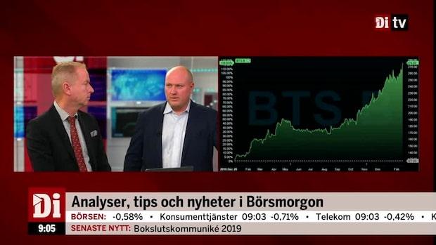 """Magnus Dagel: """"BTS rapport är jättebra"""""""