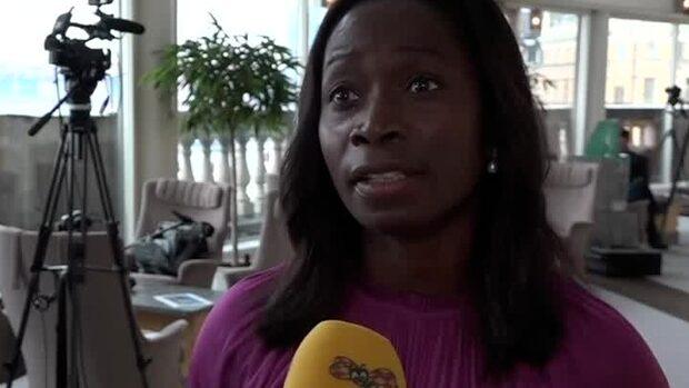 """Nyamko Sabuni: """"Nu följer de det som är intentionen i januariavtalet"""""""