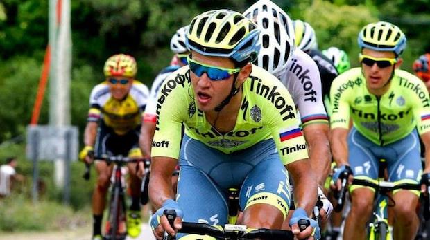 Tour de France-cyklistens chockerande benbild