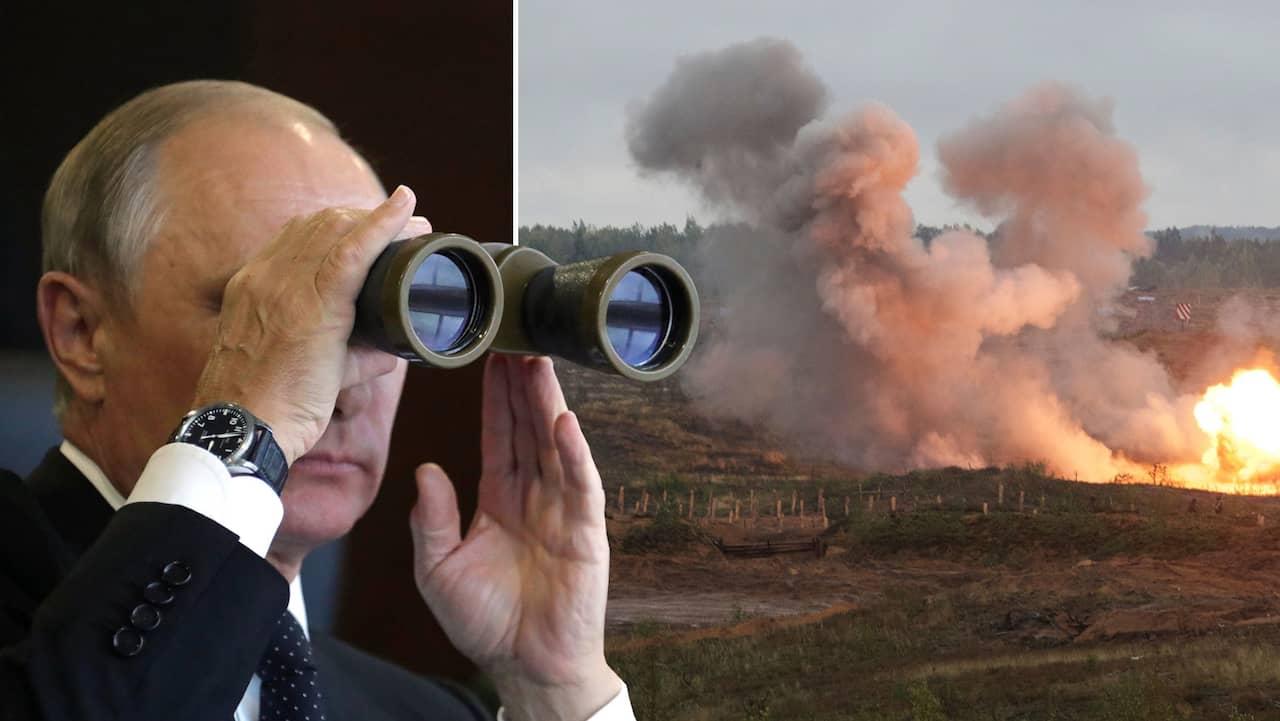 Ryssland bombar oss