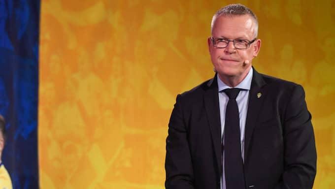 Janne Andersson. Foto: PONTUS LUNDAHL/TT / TT NYHETSBYRÅN