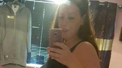 Hon fotade gravidmagen – missade snuskdetaljen i bilden