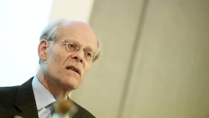 I morgon kommer Riksbanken – med riksbankchef Stefan Ingver i spetsen – att presentera sitt beslut. Foto: PONTUS LUNDAHL/TT