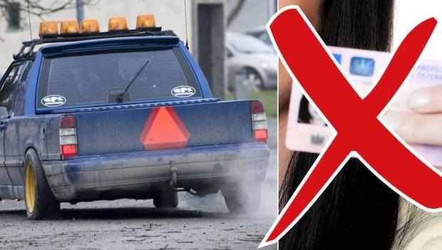 Polisens kamp mot A-traktorerna – tar föräldrarnas körkort