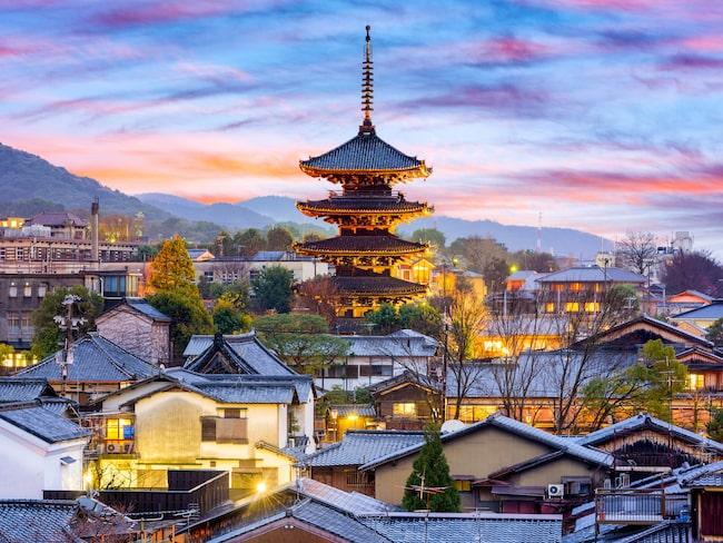 Vackra Kyoto skakas av överturism.