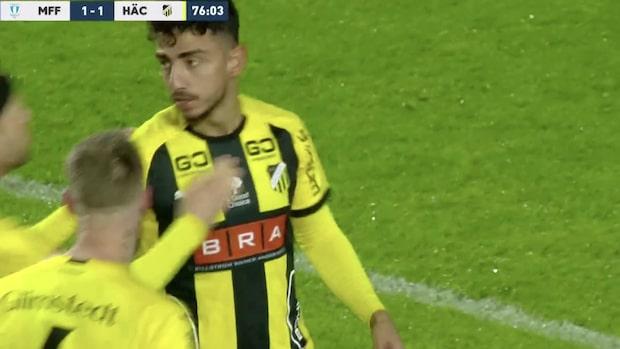 Inhopparen kvitterade mot Malmö FF