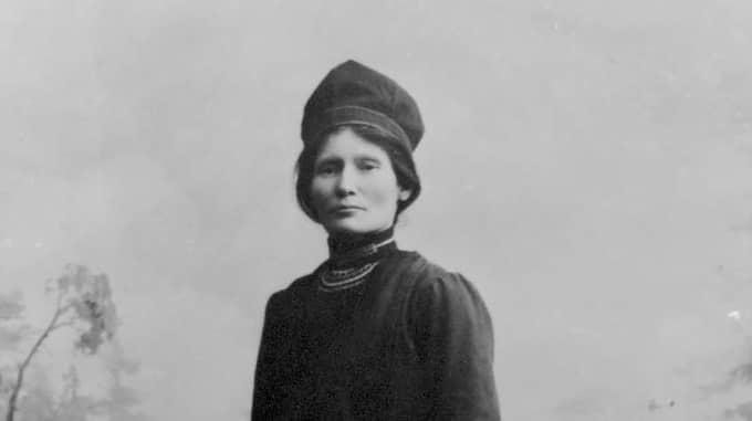 Elsa Laula Renberg kvinnan bakom samiska nationaldagen samernas nationaldag. Foto: / WIKICOMMONS