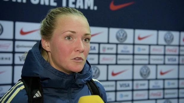"""Magdalena Eriksson: """"Vi har lärt oss en läxa"""""""