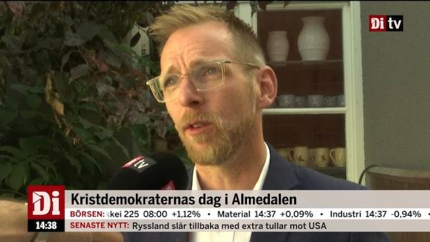 Ekonomistudion – fokus på Kristdemokraternas ekonomiska politik