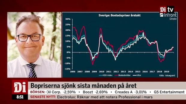 """Valuegardsiffror: """"Jag tror vi fortsätter att se samma trend"""""""