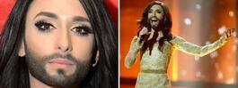 Conchita Wurst berättar  hemligheten efter hotet