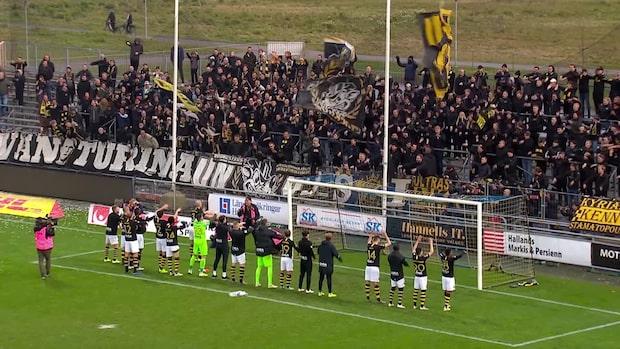Höjdpunkter: Falkenberg-AIK