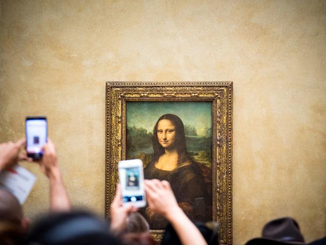 Mona Lisa är Louvrens största publikmagnet.