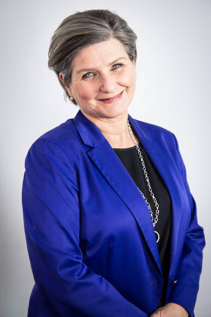 Helen Tronstad kom till SVT 1998 och tackades av i rutan i april i fjol. Foto: SVT
