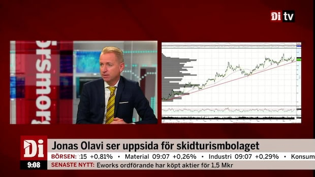 Jonas Olavi ser uppsida för skidturismbolaget