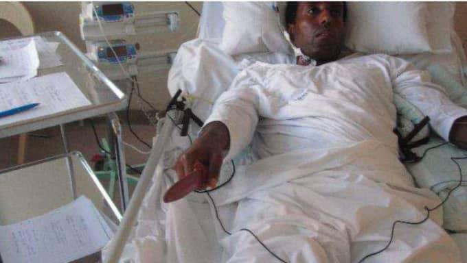 Rättegången mot Abraham Ukbagabir, 36, som misstänks ha knivmördat två på Ikea i augusti, fortsätter på fredagen. Foto: Polisen