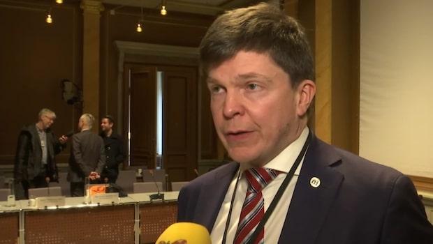 """Andreas Norlén (M): """"Det Expressen och DN uppmärksammar är väldigt bekymmersamt"""""""