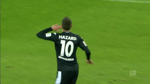 Hazard hjälte för Mönchengladbach