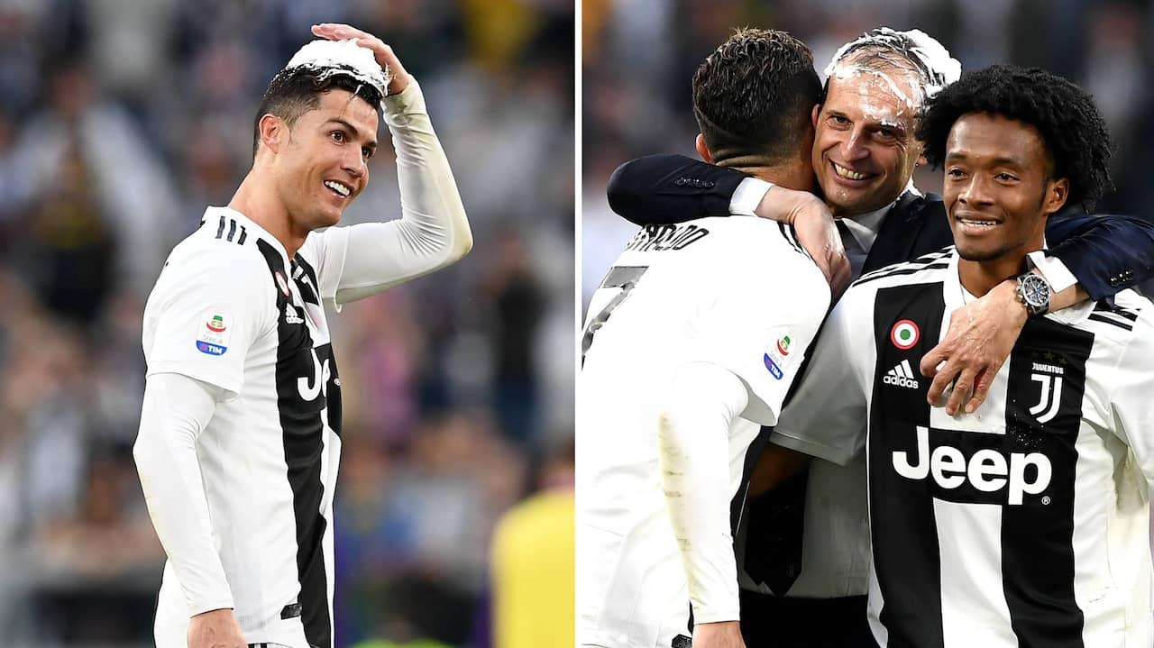 Ronaldos besked om framtiden i mästarlaget