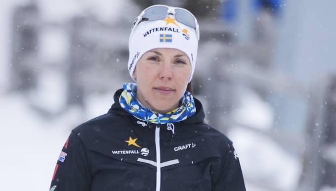 Charlotte Kalla har haft en ovanligt tung säsong. Foto: Nils Petter Nilsson/Ombrello