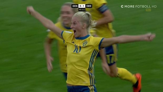 Vilda glädjen: Sverige klart för VM i Frankrike
