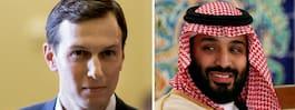 bin Salmans politiska livlina i  Vita huset heter Jared Kushner