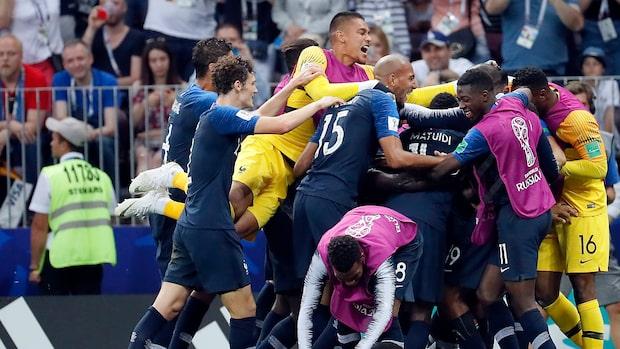 Se målen från VM-finalen i Sportnyheterna 15 juli