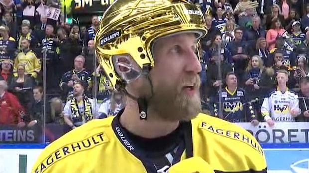 """Kaptenen Thörnberg efter guldet: """"Så värda detta"""""""