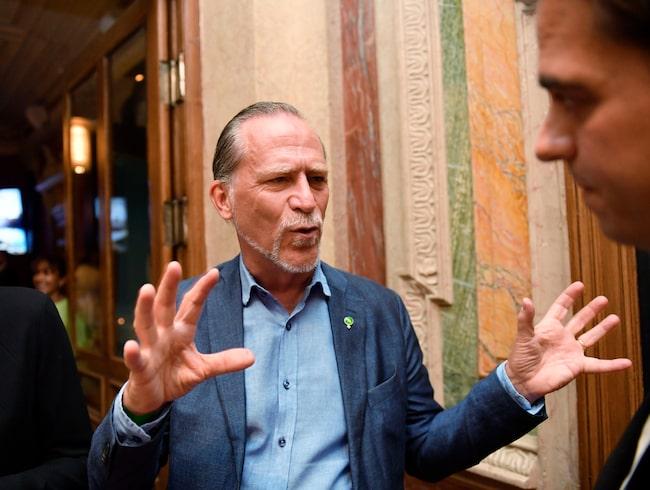 Daniel Helldén vill införa miljözoner i Stockholm.