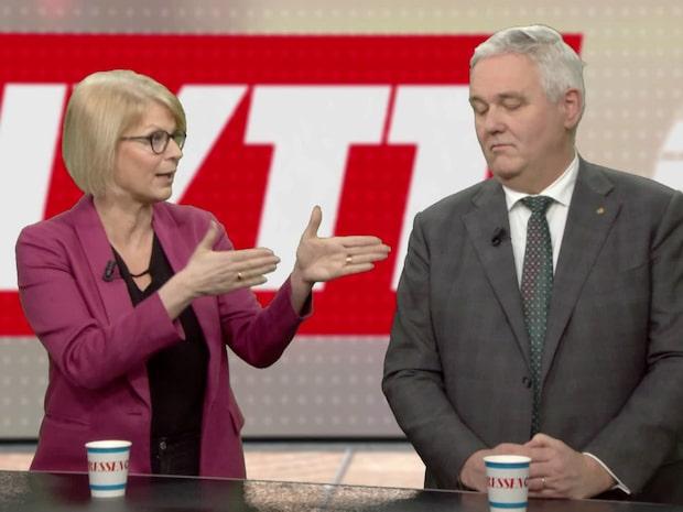 Elisabeth Svantesson (M) om Moderaternas varning för budgetkaos