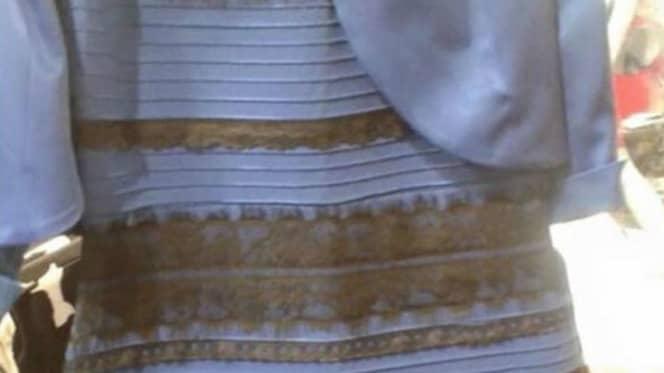 Diskussionen liknar den som var aktuell 2015 med denna klänning i fokus Foto: Twitter